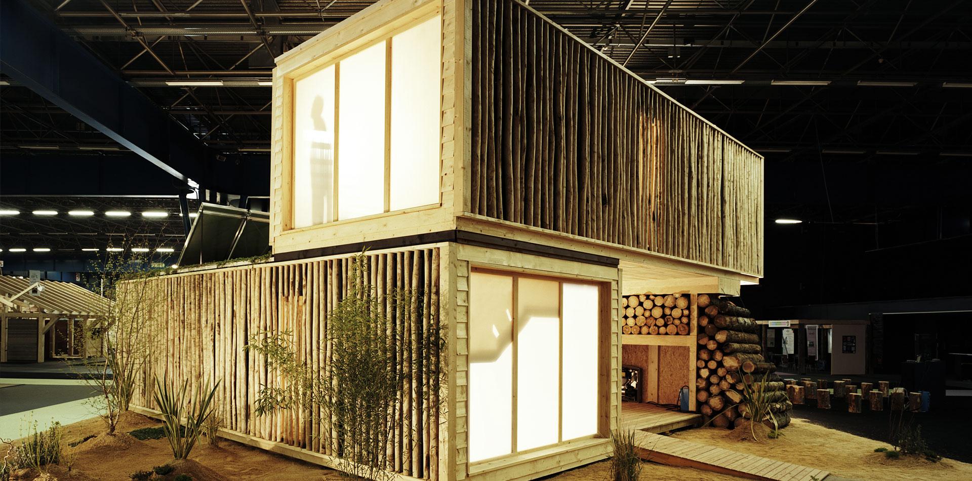 Casa Contempor Nea Ecodhome