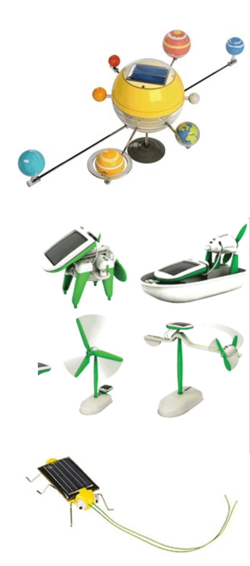 brinquedos movidos a energia solar